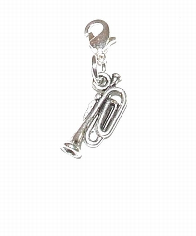 Flying charm metalen trompet