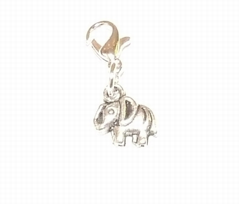 Flying charm metalen olifant