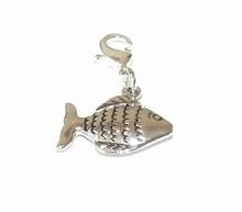 Flying charm metalen vis