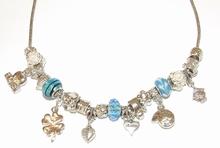 Ketting Pandora 100200 | Pandora stijl ketting turquoise