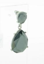 Oorbellen grijs 33445 | Schitterende grijze oorbellen