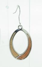 Oorbellen bruin 4227 | Trendy bruine oorbellen