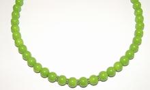 Ketting groen 9510 | Groene ketting glaskralen