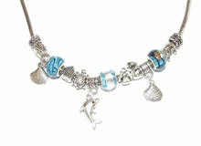 Ketting Pandora 21951 | Pandora stijl ketting turquoise