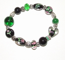 Armband glaskralen 1465 | Multi colour armband glaskralen