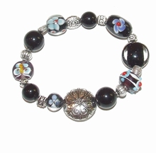 Armband glaskralen 1732 | Multi colour armband glaskralen