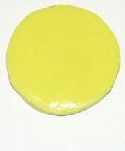 Munt voor munthouder licht geel