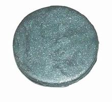 Munt voor munthouder grijs glitter