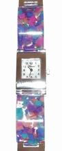 Horloge multi colour