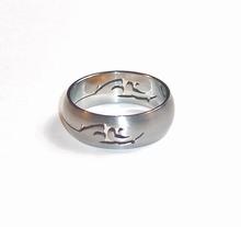 Edelstaal RVS ring