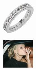 Zilveren Eternity ringband